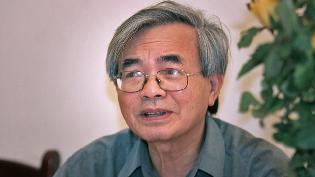 GS Phan Đình Diệu, một trí thức lớn của Việt Nam. Nguồn ảnh: Lê Anh Dũng (Vietnamnet)