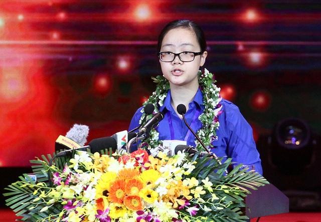 Năm 2016, đại biểu Nguyễn Tú Anh, học sinh 11 chuyên Anh THPT Phan Bội Châu (Nghệ An) đọc thư của Đại hội Thanh niên tiên tiến làm theo lời Bác lần thứ IV gửi tuổi trẻ cả nước.