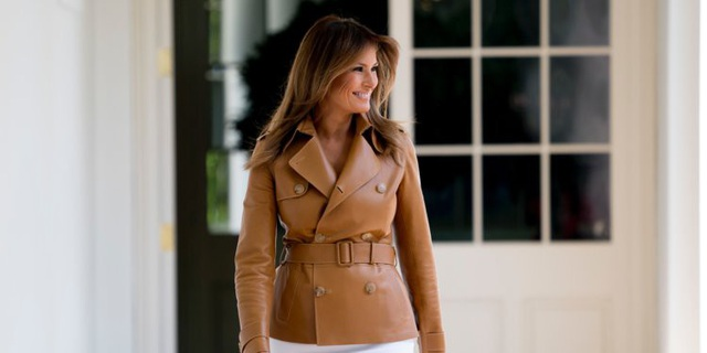 """Tuần trước, Đệ nhất phu nhân Mỹ Melania Trump đã công bố một chiến dịch hoạt động mang tên """"Be Best"""" (tạm dịch là """"Trở thành người giỏi nhất"""") do bà khởi xướng. Sáng kiến này nhằm mục tiêu khuyến khích lối sống lành mạnh và hướng dẫn các thanh thiếu niên sử dụng truyền thông xã hội một cách tích cực, chống bạo lực và nạn lạm dụng thuốc. Đây là chiến dịch hành động đầu tiên của bà Melania Trump sau hơn một năm trở thành đệ nhất phu nhân của nước Mỹ. (Ảnh: Reuters)"""