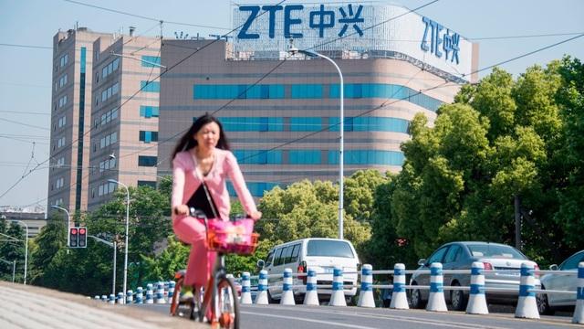 ZTE là công ty smartphone lớn thứ 4 ở Mỹ.