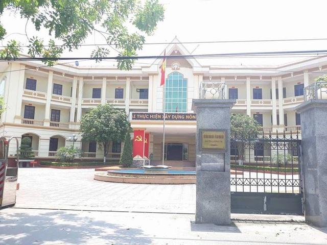 Trụ sở UBND huyện Lương Tài.