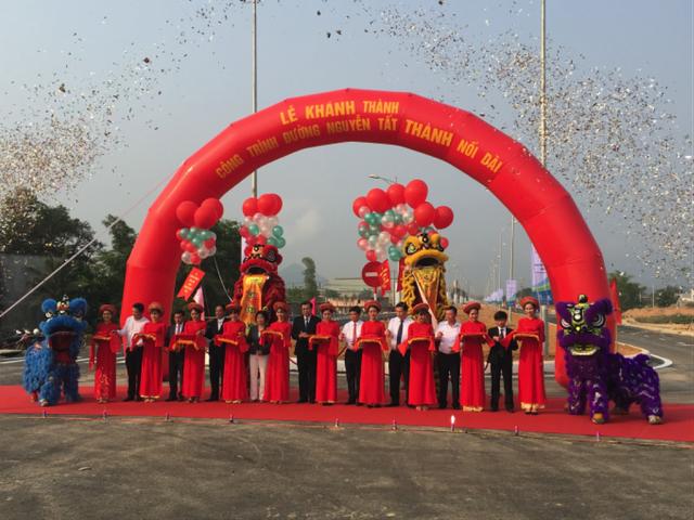 Khánh thành tuyến đường Nguyễn Tất Thành nối dài
