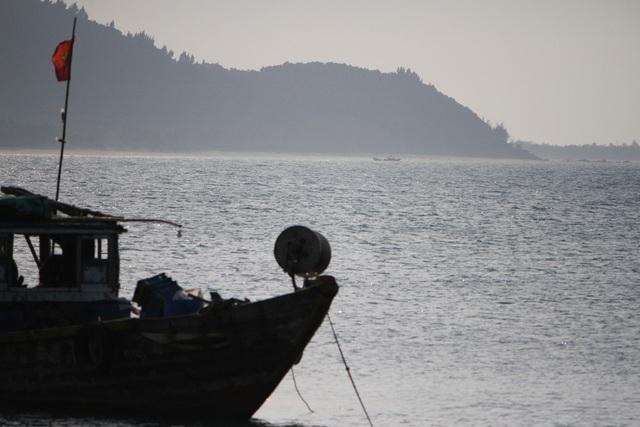Biển Lộc Bình về chiều