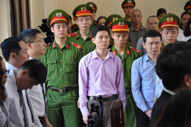 Bị cáo Hoàng Công Lương tại phiên xử
