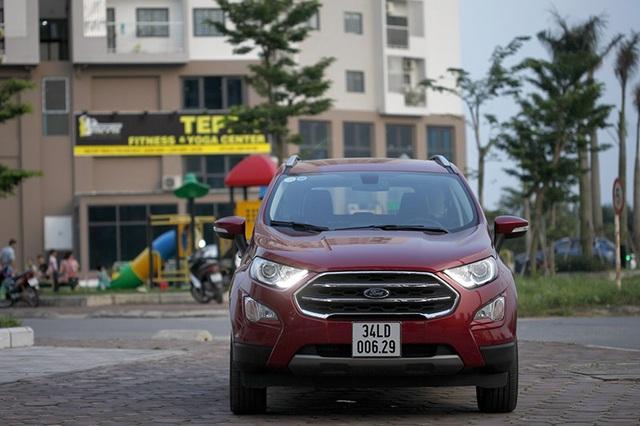 Ford Ecosport - Những đổi thay đáng giá - 1