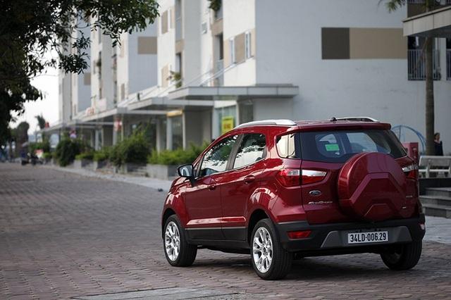 Ford Ecosport - Những đổi thay đáng giá - 5