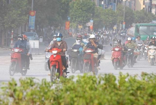 Cứ 10 ngày, Hà Nội có 9 ngày ô nhiễm không khí - 1