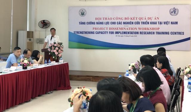 Tăng cường năng lực cho các nghiên cứu triển khai tại Việt Nam - 2
