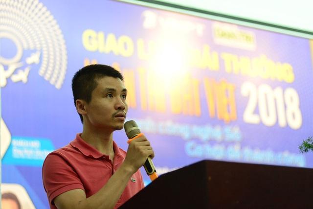 Ông Phạm Tuấn Anh, Phó tổng biên tập báo Dân trí, Phó trưởng ban tổ chức Giải thưởng