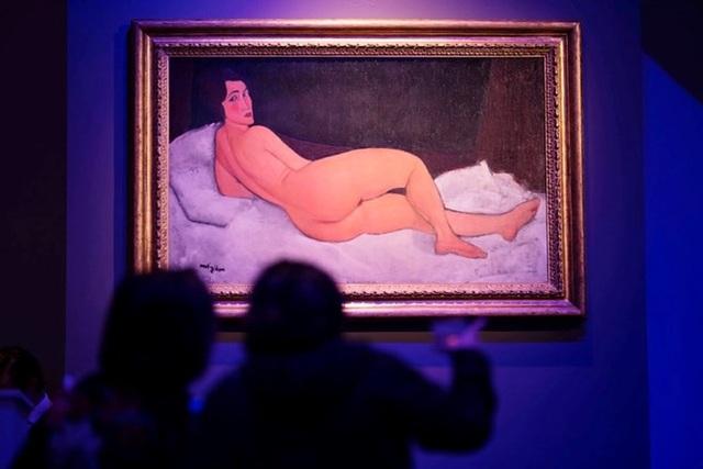 Bức tranh của danh họa Modigliani được bán hơn 157 triệu USD - 1