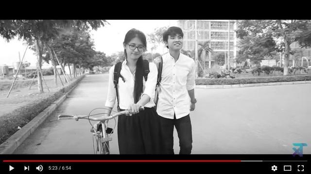 MV Những năm tháng ấy của Xuân Tài được lan truyền trên mạng nhờ lời Việt hoá ý nghĩa cho ca khúc của You are the apple of my eyes