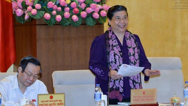 Phó Chủ tịch Quốc hội Tòng Thị Phóng: Làm thế nào để bà con không phải về Hà Nội khiếu kiện?