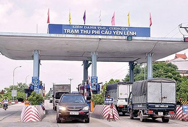 KTNN kiến nghị Bộ GTVT thương thảo điều chỉnh giảm giá vé hoặc giảm thời gian thu phí tại BOT Quốc lộ 38, Yên Lệnh - Vực Vòng.