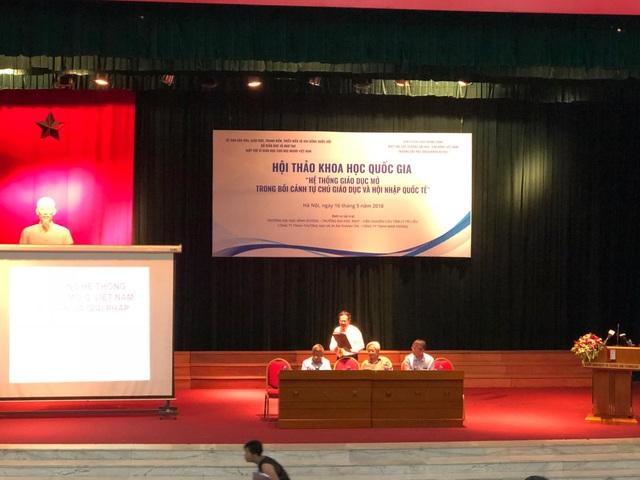 Hội thảo quốc gia Hệ thống giáo dục mở trong bối cảnh tự chủ giáo dục và hội nhập quốc tế