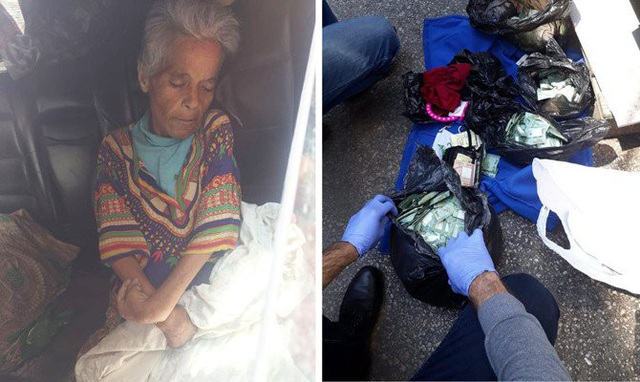 Bà Fatima Othman qua đời trong một chiếc xe hơi bỏ đi bên cạnh nhiều túi tiền mặt trị giá 77,3 triệu đồng. (Nguồn: AN)