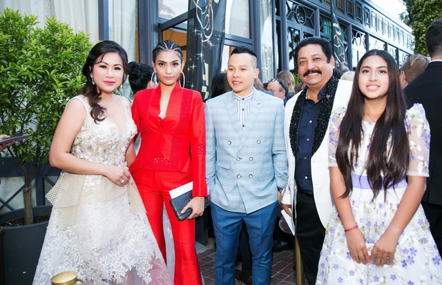 Mai Anh Trần, Trương Thị May hội ngộ nhiều ngôi sao thế giới tại Cannes - 6
