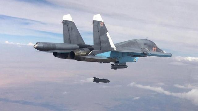 Máy bay chiến đấu Nga (Ảnh: TASS)