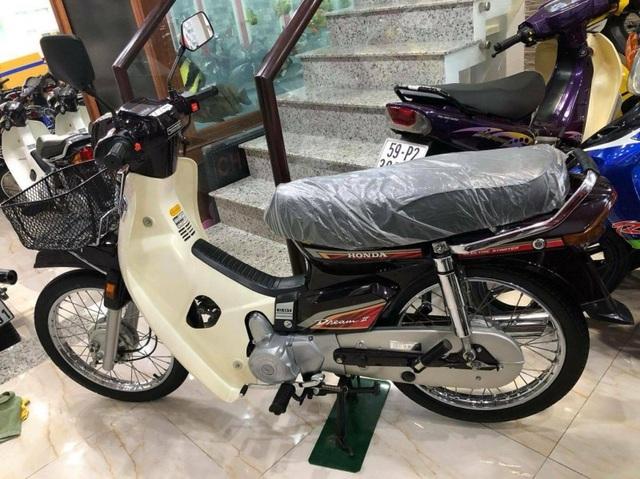 Chiếc Honda Dream II Thái Lan được quảng cáo chưa lăn bánh, có giá bán 50.000 USD