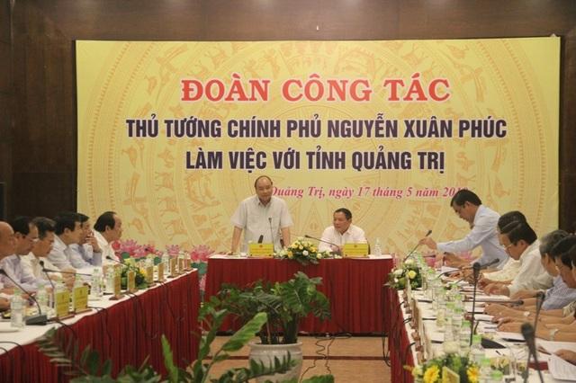 Thủ tướng: Quảng Trị cần hướng đến tầm nhìn xa hơn - 1