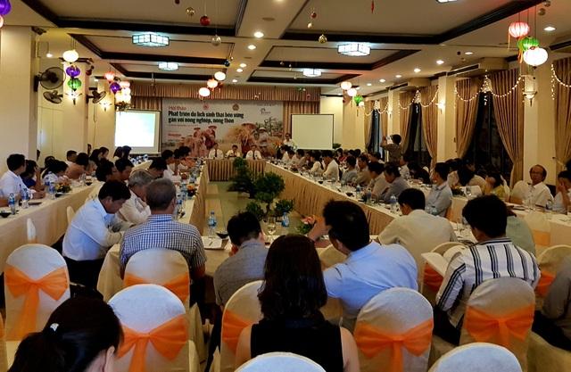 """Hội thảo """"Phát triển du lịch sinh thái bền vững gắn với nông nghiệp, nông thôn"""" được tổ chức ngày 18/5 tại Hội An"""