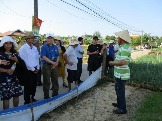 Các đại biểu, các đơn vị lữ hành tham quan một số khu du lịch sinh thái, nông nghiệp tại Hội An