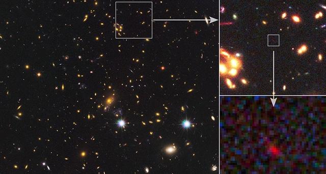 Những ngôi sao sinh ra chỉ 250 triệu năm sau vụ nổ Big Bang - 1