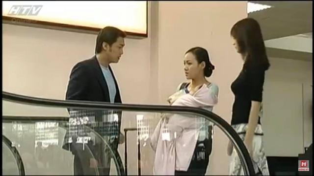 Cảnh của nhân vật do Hoài Anh đảm nhận bị lực lượng cảnh sát đón bắt tại sân bay.