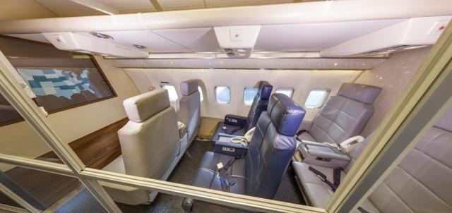 Ghế VIP trên máy bay.