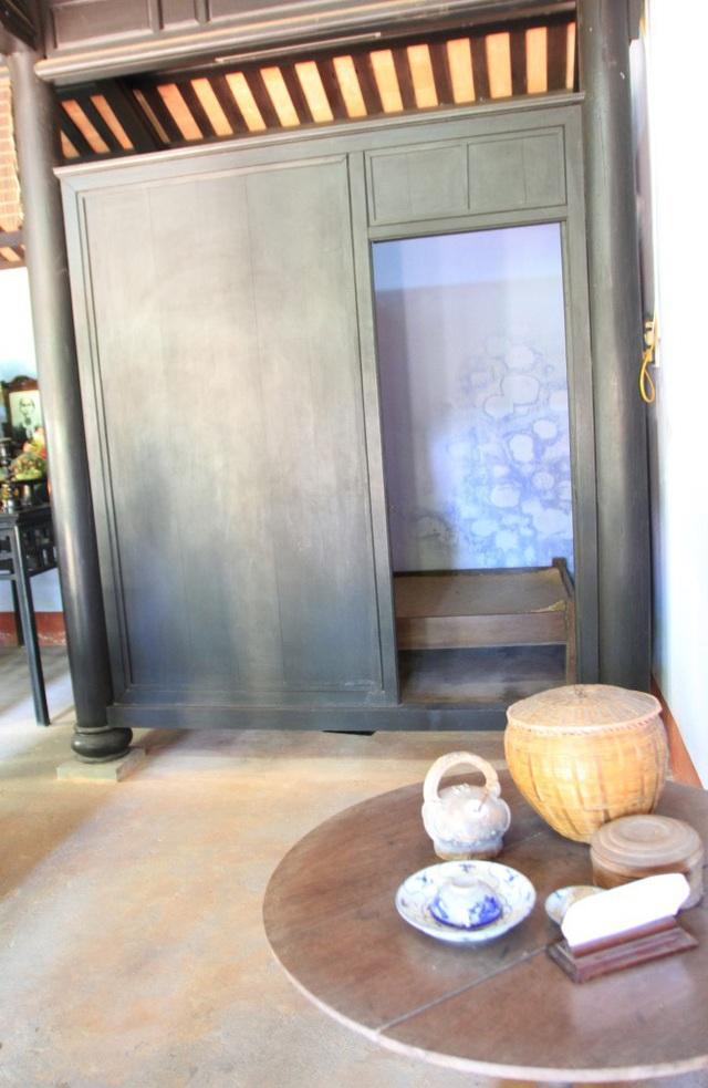 Gian ngủ của bà Hoàng Thị Loan, thân mẫu Bác Hồ