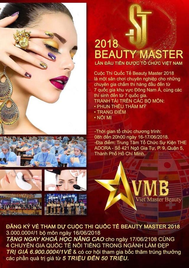 Beauty Master- sân chơi của các chuyên gia ngành làm đẹp - 1
