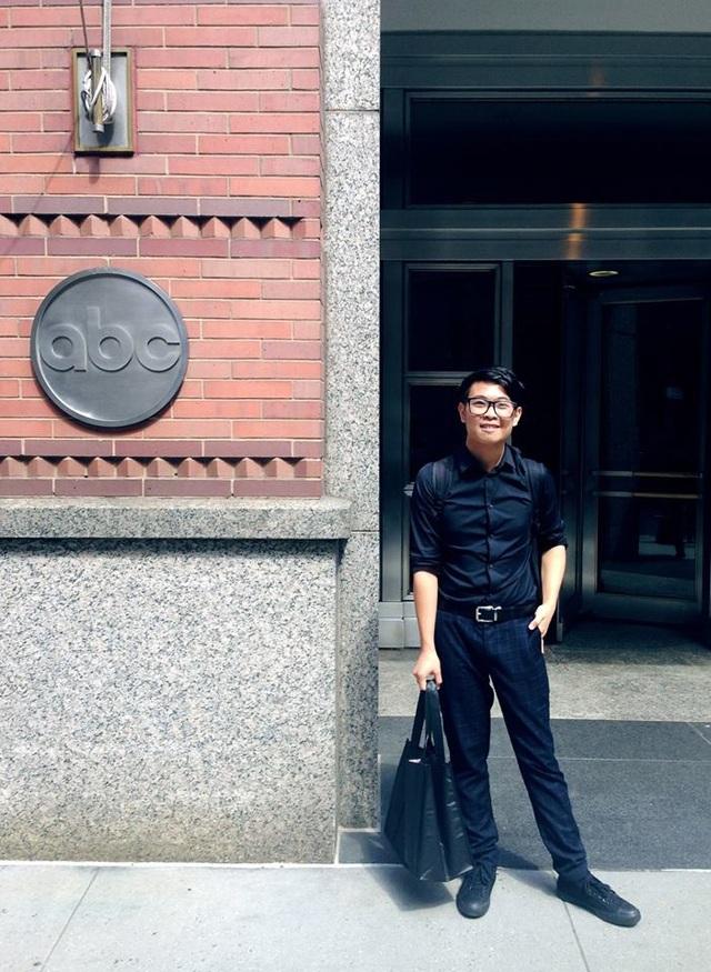Ngày đầu thực tập của chàng du học sinh Việt ở Disney ABC Television Group.
