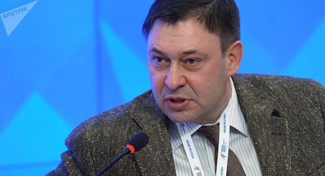 Nhà báo Kirill Vyshinsky (Ảnh: Sputnik)