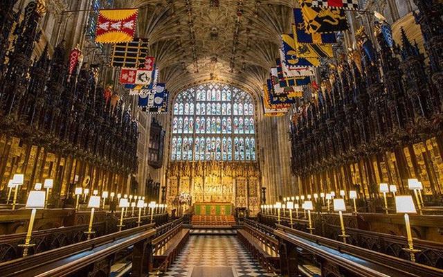 Nhà nguyện St.Georges nơi diễn ra đám cưới cổ tích của Hoàng tử Harry và Lọ lem Meghan. (Ảnh: Reuters)