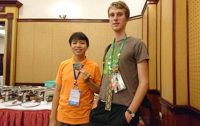 Nam sinh giành HCV Olympic quốc tế là đại biểu thanh niên tiên tiến làm theo lời Bác - 3