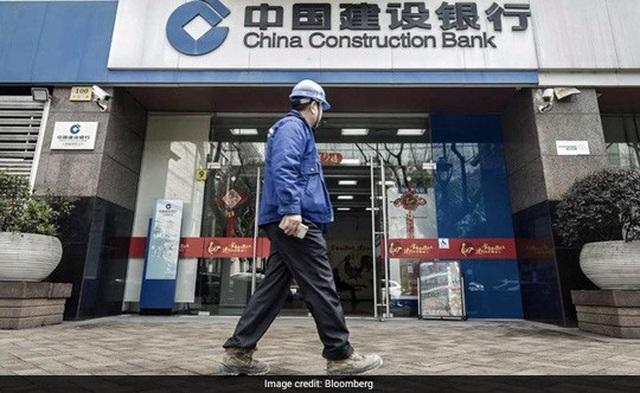 Ngân hàng Xây dựng Trung Quốc. Ảnh: Bloomberg