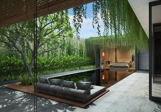 Wyndham Garden sở hữu kiến trúc Private Villas theo xu hướng Go Green đang được du khách thế giới ưu chuộng đảm bảo công suất cho thuê đạt 90%.
