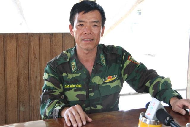 Thượng tá Cao Hữu Tùng - Đồn trưởng Đồn Biên phòng 747 bị đình chỉ công tác