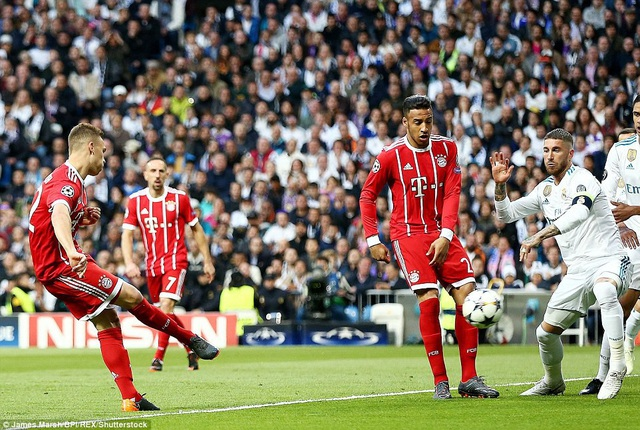 Kimmich mở tỷ số cho Bayern Munich từ rất sớm