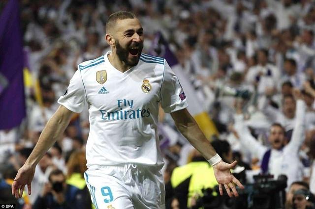 Benzema sắm vai người hùng của Real Madrid