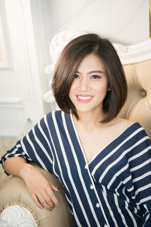 Nhan sắc tươi trẻ của nữ doanh nhân Hà thành