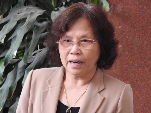 Nhà giáo nhân dân Nguyễn Thị Hiền – Chủ tịch HĐQT Trường Đoàn Thị Điểm, Hà Nội.