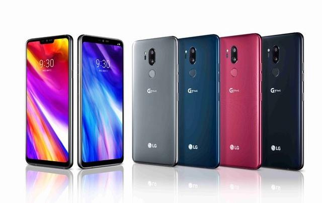 """LG G7 ThinQ với thiết kế không viền và màn hình """"tai thỏ"""""""