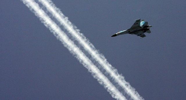 Một máy bay Su-27 của Nga (Ảnh: Sputnik)