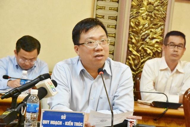 Ông Nguyễn Thanh Nhã - Giám đốc Sở Quy hoạch và Kiến trúc TPHCM