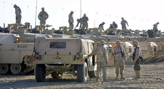 Binh lính Mỹ tại Syria (Ảnh minh họa: AFP)