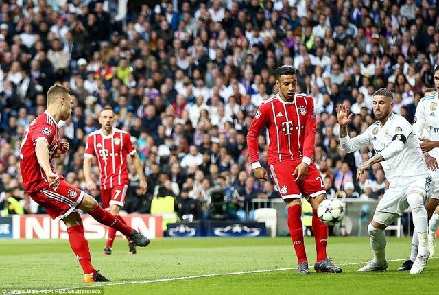 Bayern Munich đã bị loại bởi các đại diện Tây Ban Nha ở các trận knock-out Champions League trong 5 năm liên tiếp
