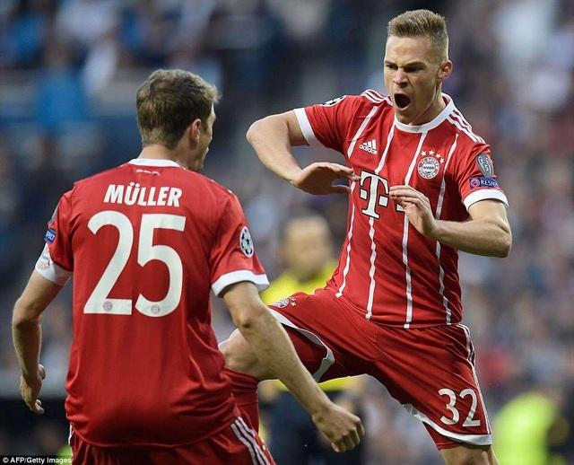 Kimmich mở tỷ số cho Bayern ở phút thứ 3, nhưng đội khách không thể lật ngược thế cờ