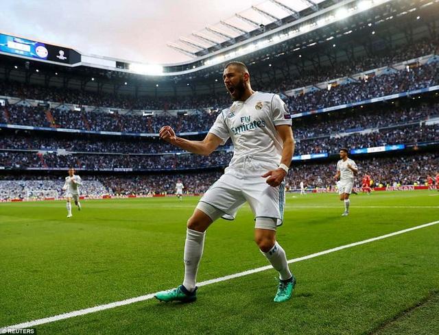 Người hùng Benzema đã tạo nên sự khác biệt cho Real Madrid