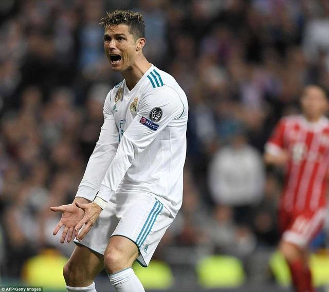 C.Ronaldo không thể ghi bàn vào lưới Bayern Munich trong cả hai trận bán kết Champions League
