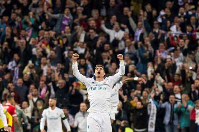 C.Ronaldo đã có một trận đấu vô duyên khi bỏ lỡ hai cơ hội và thể hiện phong độ nhạt nhòa